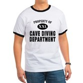 Cave Diving Department Ringer T