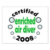 Enriched Air Diver 2008 Small Poster