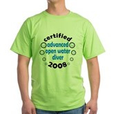 Certified AOW 2008 Green T-Shirt