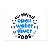 Open Water Diver 2008 Postcards (Package of 8)