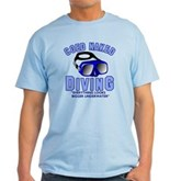 Coed Naked Diving Light T-Shirt
