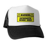 Warning: Newbie Diver Trucker Hat