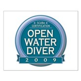 Open Water Diver 2009 Small Poster