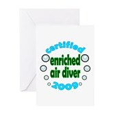 Nitrox Diver 2009 Greeting Card
