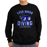Coed Naked Diving Sweatshirt (dark)