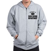 Cave Diving Department Zip Hoodie