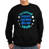 Open Water Diver 2008 Sweatshirt (dark)