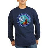 Take Only Memories (fish) Long Sleeve Dark T-Shirt