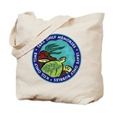 Take Only Memories (turtle) Tote Bag