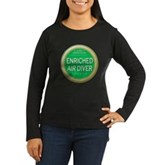 Certified Nitrox Diver Women's Long Sleeve Dark T-